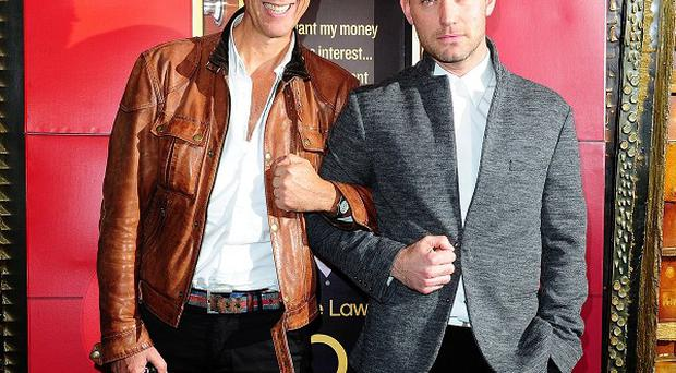 Richard E Grant and Jude Law became great friends working on Dom Hemingway