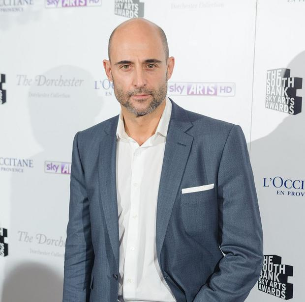 Mark Strong plays an agent in The Secret Service