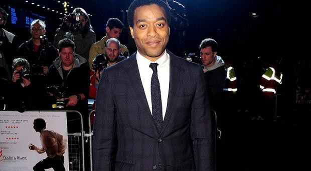 Chiwetel Ejiofor was spotted waiting to see JJ Abrams