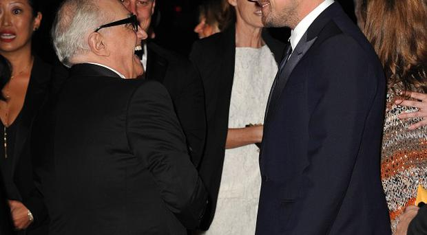 Leonardo DiCaprio paid tribute to Martin Scorsese at the LACMA gala