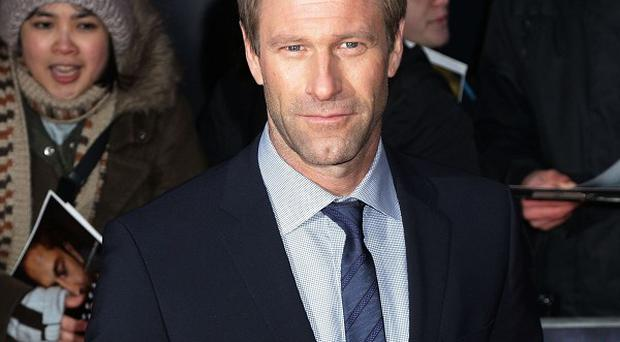 Aaron Eckhart will play a troubled screenwriter in Fade Out