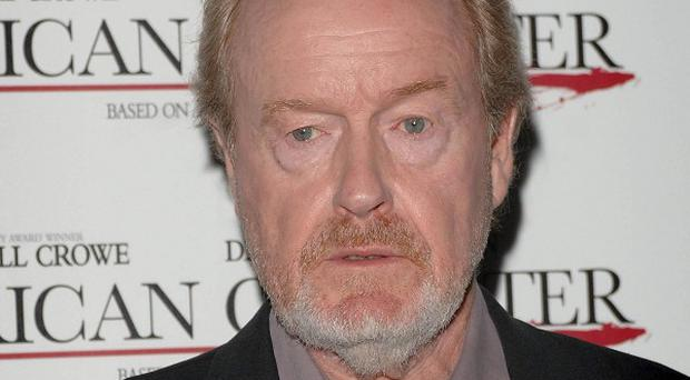 Filmmaker Ridley Scott is a big fan of football
