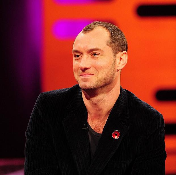 Jude Law relished the challenge of Dom Hemingway