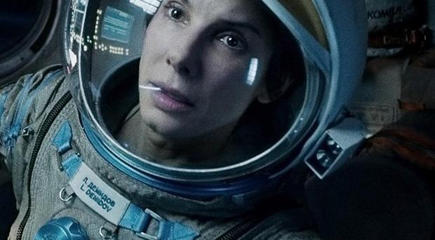 Sandra Bullock said the tough shoot on Gravity made her 'dig deep'