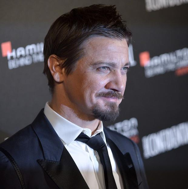 Jeremy Renner arrives at the 7th Annual Hamilton Behind the Camera Awards (AP)