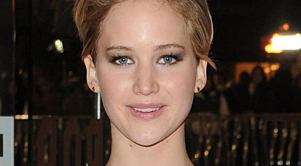 Jennifer Lawrence arriving for the world premiere of The Hunger Games: Catching Fire at the Odeon Leicester Square, London