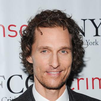 Matthew McConaughey joked that he still likes drumming naked