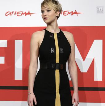 Jennifer Lawrence admits being thrust into the spotlight is a strange experience