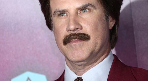 Will Ferrell enjoyed his day's filming with Harrison Ford