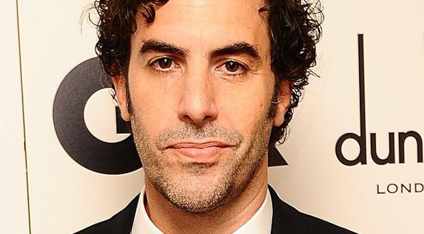 Sacha Baron Cohen has been researching his football thug role