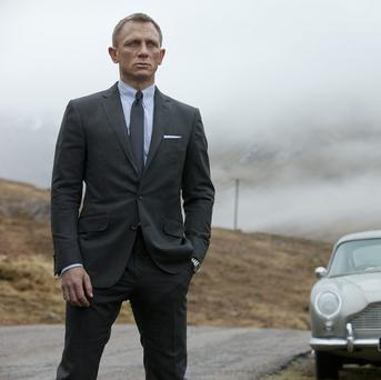 Daniel Craig stars as James Bond in Metro-Goldwyn-Mayer Pictures/Columbia Pictures/EON Productions action adventure SKYFALL.