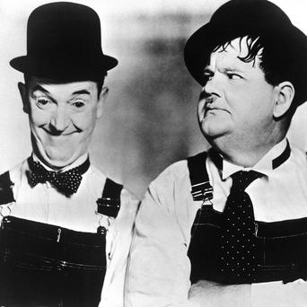 Stan Laurel and Oliver Hardy will be the subject of a new film