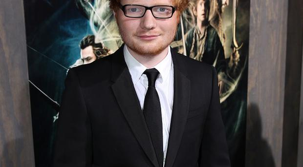 Ed Sheeran has written a song for The Hobbit: The Desolation Of Smaug