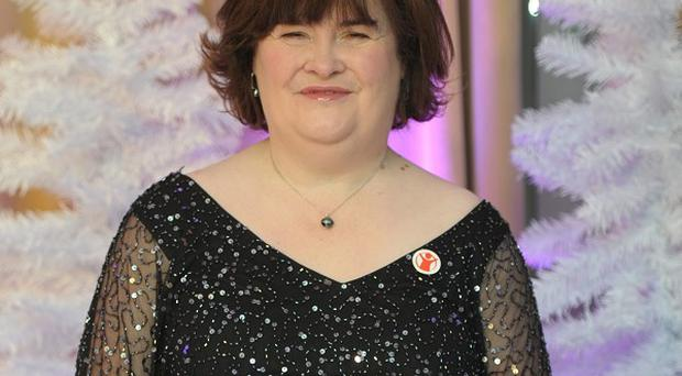 Susan Boyle makes her big-screen debut in The Christmas Candle