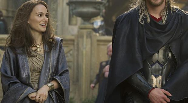 Natalie Portman and Chris Hemsworth starred in Thor: The Dark World