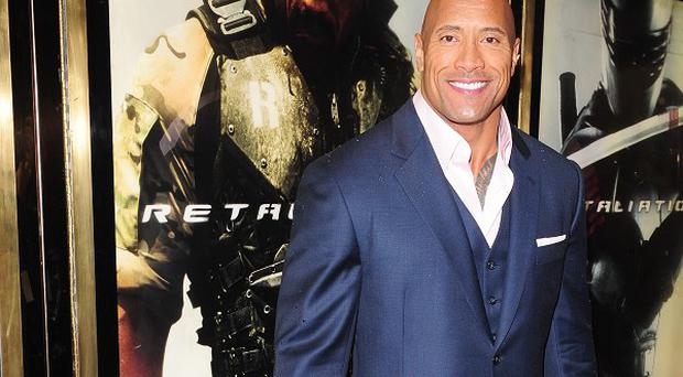 Dwayne 'The Rock' Johnson stars in San Andreas, a film about an earthquake