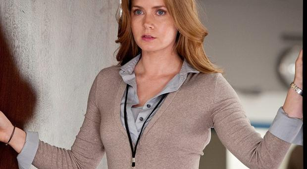 Amy Adams admitted she was anxious before working with Russell Crowe on Man Of Steel