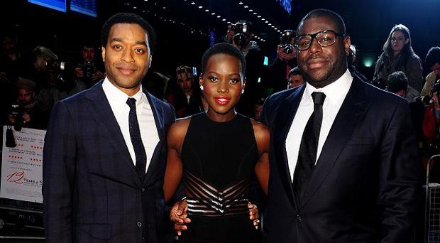 Steve McQueen directed 12 Years A Slave, which stars Chiwetel Ejiofor and Lupita Nyong'o