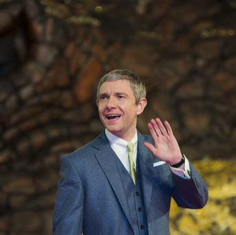 Martin Freeman has reprised his role of Bilbo Baggins in The Hobbit: The Desolation Of Smaug