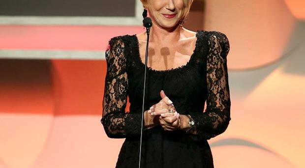 Helen Mirren at the 27th Annual American Cinematheque Award presentation ceremony (AP)
