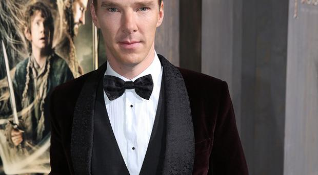 Benedict Cumberbatch voices Smaug the dragon and the Necromancer in The Hobbit: The Desolation Of Smaug