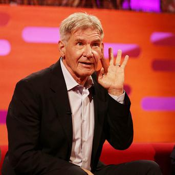 Harrison Ford doesn't want to be the leading man any more