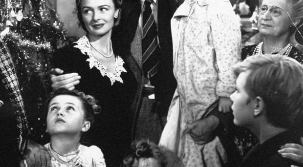 James Stewart stars in Christmas classic It's A Wonderful Life (AP)