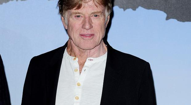 Robert Redford stars as a man stranded at sea in All Is Lost