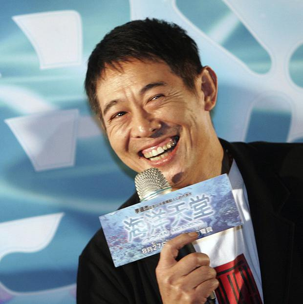 Jet Li is being treated for an overactive thyroid