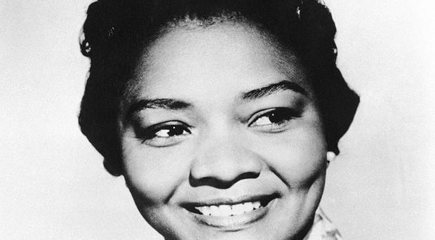 Juanita Moore collapsed and died at her home in Los Angeles aged 99 (AP)