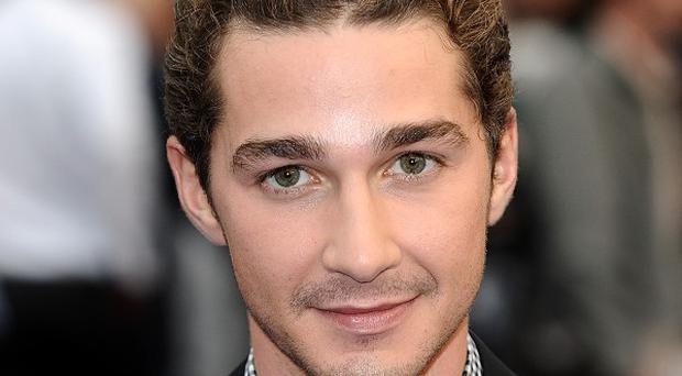 Shia LaBeouf plays a soldier in Fury