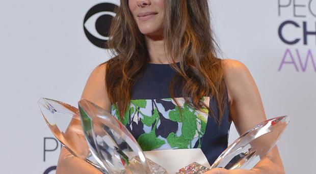 Sandra Bullock won four awards at the People's Choice Awards (AP)