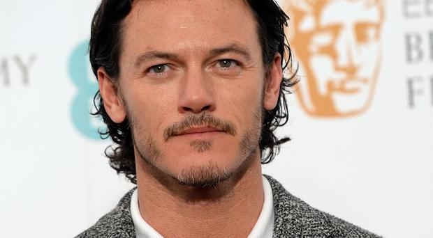 Luke Evans is starring in the remake of The Crow