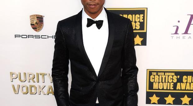 Pharrell Williams is delighted with his Oscar nod