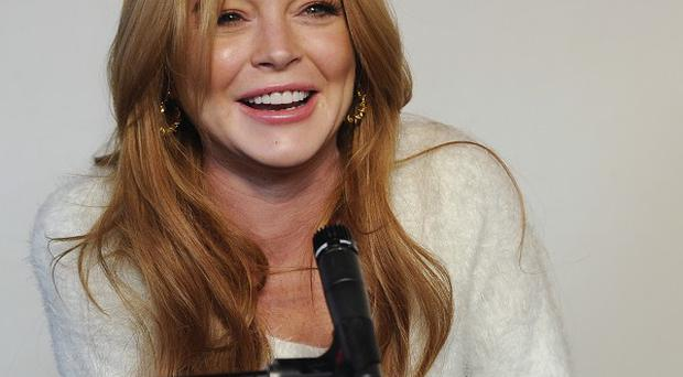 Lindsay Lohan has announced a new film role