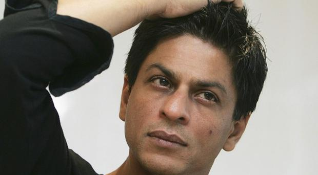 Shah Rukh Khan's office said the Bollywood superstar suffered a minor injury while shooting a new movie