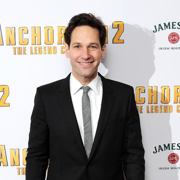 Paul Rudd has the title role in the Ant-Man film
