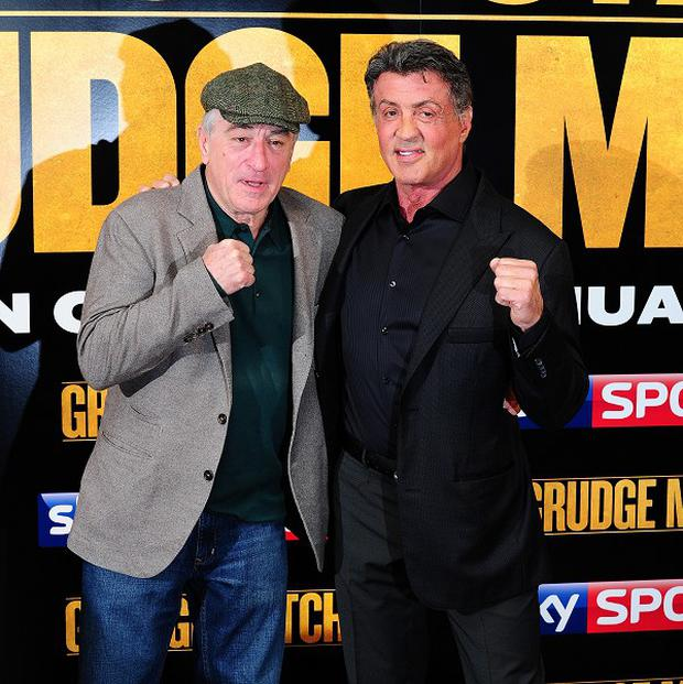 Robert De Niro talked Sylvester Stallone into doing Grudge Match