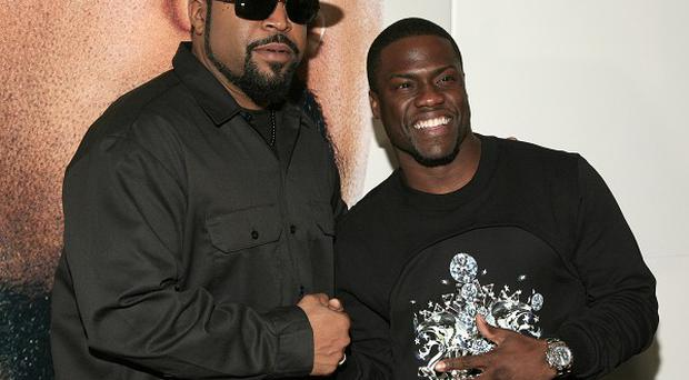 Ice Cube and Kevin Hart star in Ride Along