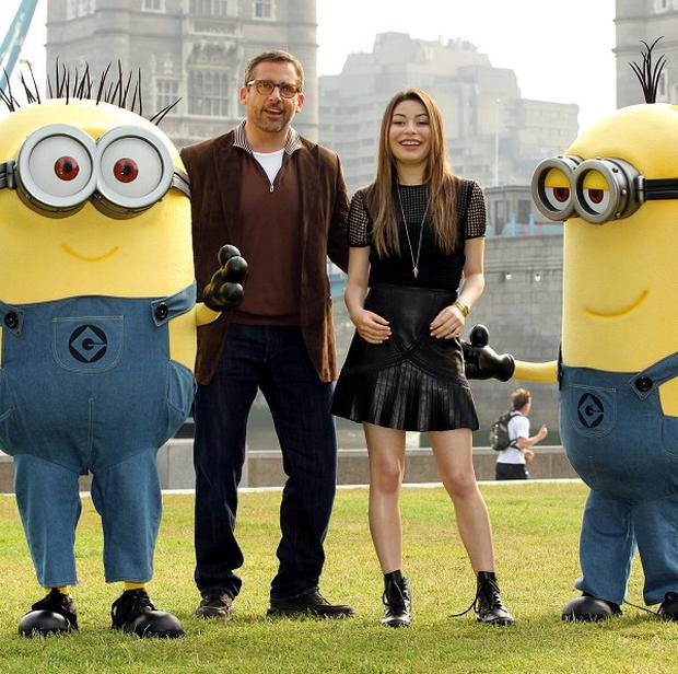Steve Carell and Miranda Cosgrove star in animation Despicable Me 2