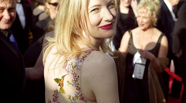 Oscar nominee actress Cate Blanchett