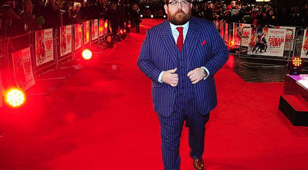 Nick Frost was at Leicester Square in London for the world premiere of dance comedy Cuban Fury