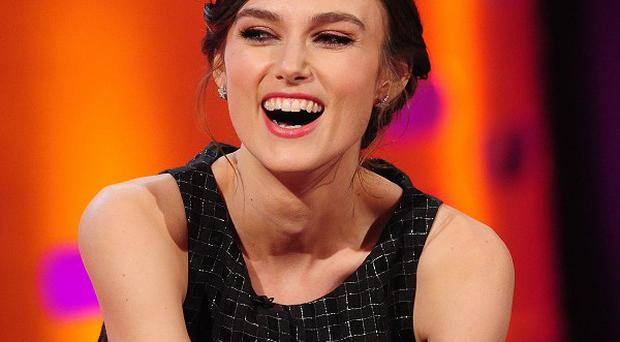 Keira Knightley hurt herself while making The Imitation Game