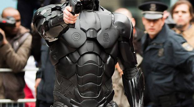 Joel Kinnaman has the title role in the RoboCop remake