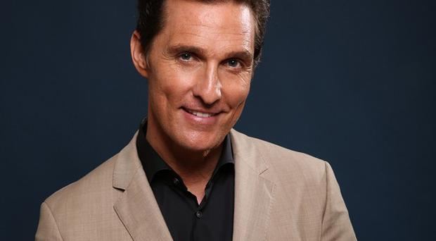 Matthew McConaughey has been nominated for an Oscar for his role in The Dallas Buyers Club (AP)