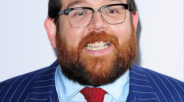 Nick Frost shows off his fancy footwork in Cuban Fury