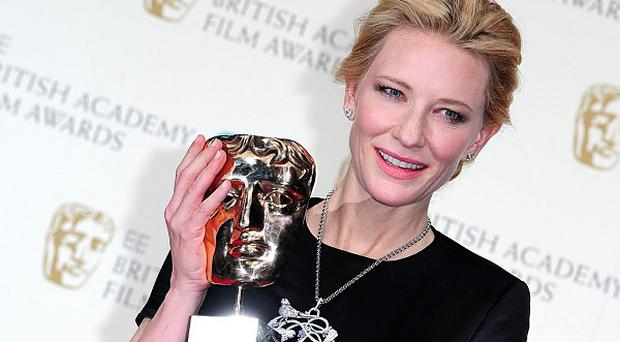 Cate Blanchett won Best Actress at the Baftas for her role in Blue Jasmine