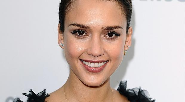 Jessica Alba is in talks to star in The Veil