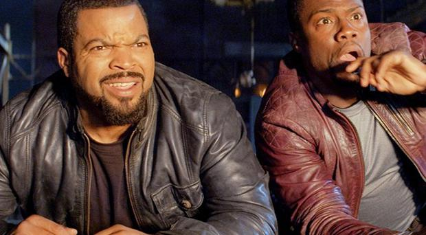 Kevin Hart and Ice Cube star in Ride Along
