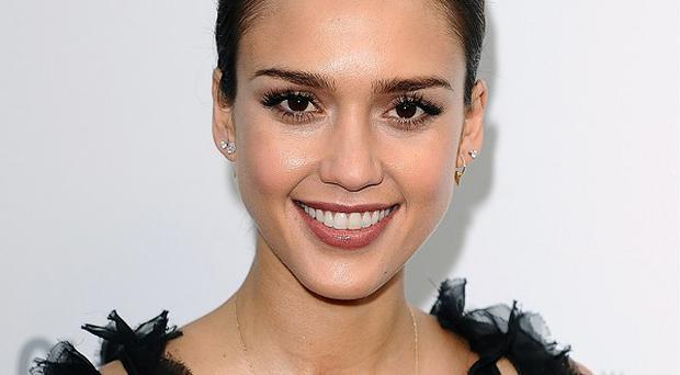 Jessica Alba has said she's addicted to acting